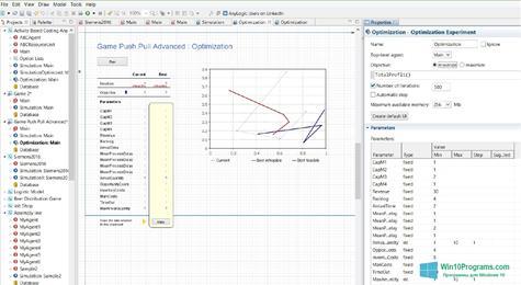 Скриншот программы AnyLogic для Windows 10